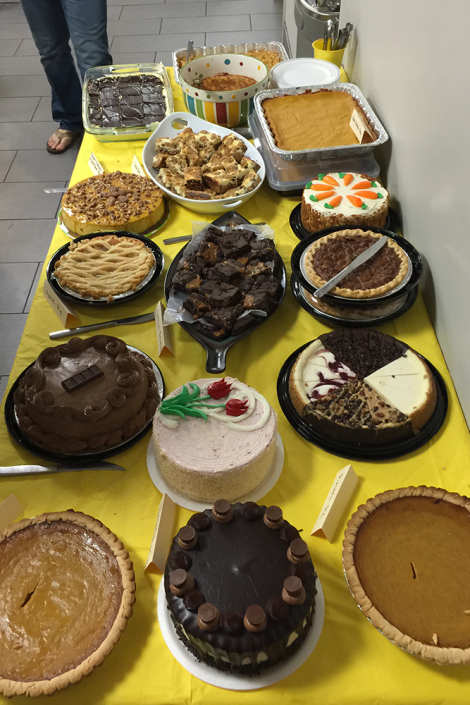 Thanksgiving desserts 2015