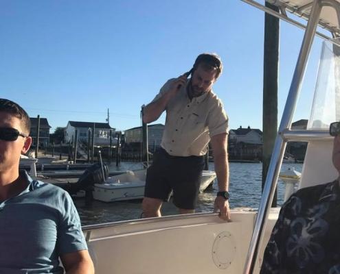 PGA Wells Fargo boat trip