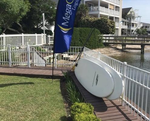 MegaCorp Banner PGA Wells Fargo 2017