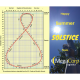 Happy Summer Solstice from MegaCorp Logistics. Scientists use a figure-8 shaped chart called the analemma to calculate the sun's angle from the earth at noon.