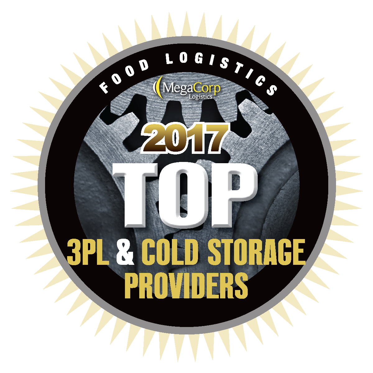 Food Logistics 2017 Top 3PL and Cold Storage Providers badge