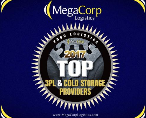 MegaCorp Logistics - Food Logistics Top 3PL & Cold Storage Providers 2017