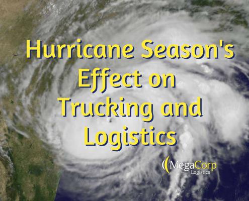 hurricane effect on trucking logistics