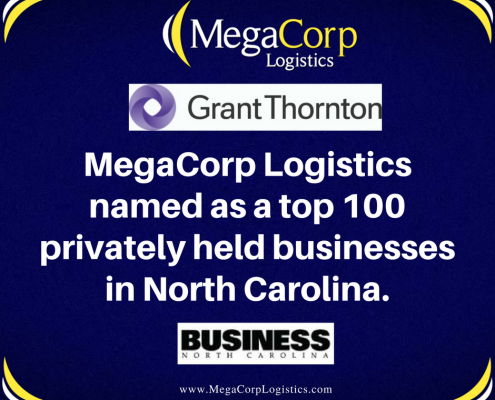 MegaCorp named as top 100 privately held business in NC
