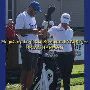 MegaCorp Logistics Sponsors PGA Player Brian Harman