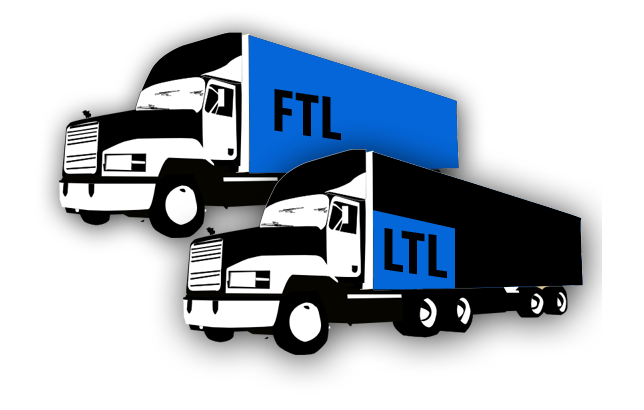 FTL and LTL trucks