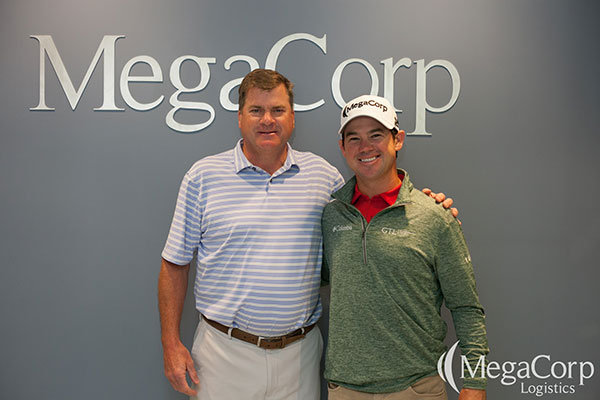 Ryan Legg and Brian Harman at MegaCorp's Headquarters