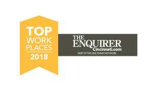 Top Work Places 2018 by the Cincinnati Enquirer