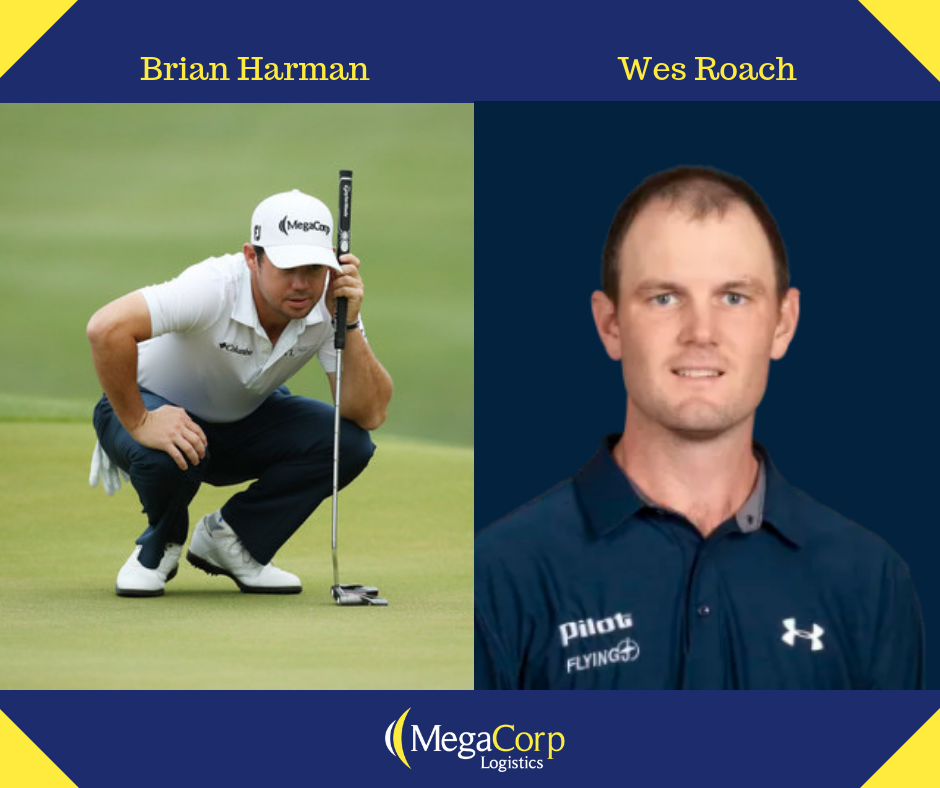 MegaCorps two PGA sponsors: Brian Harman and Wes Roach