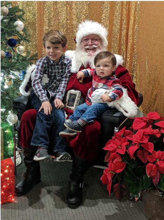 Santa visit at Wilmington Office