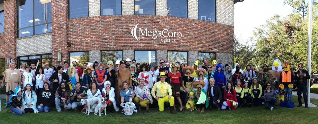 Wilmington employees dressed up on Halloween