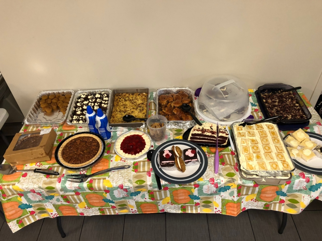 thanksgiving potluck in Wilmington
