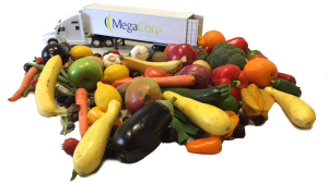 Mega Truck with Produce